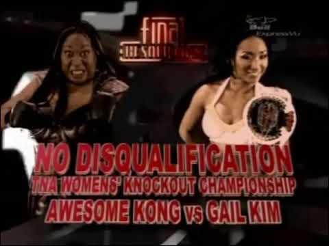 365 Wrestling, Day 6: Awesome Kong vs. Gail Kim, No DQ (TNA Final Resolution 2008,1/6/08)