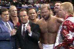 365 Wrestling, Day 11: Ricky Steamboat, Dustin Rhodes & Ron Simmons vs. Dangerous Alliance (WCW WorldWide,1/11/92)