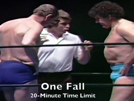 365 Wrestling, Day 16: Dory Funk, Jr. vs. Billy Robinson (Houston,1/16/81)