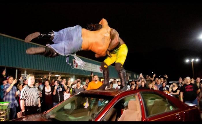 365 Wrestling, Day 10: Joe Black vs. Will Huckaby, Dog Collar Match (Southern Honor Wrestling,1/10/20)
