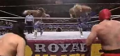 365 Wrestling, Day 19: Rockers vs. New Orient Express (WWF Royal Rumble,1/19/91)