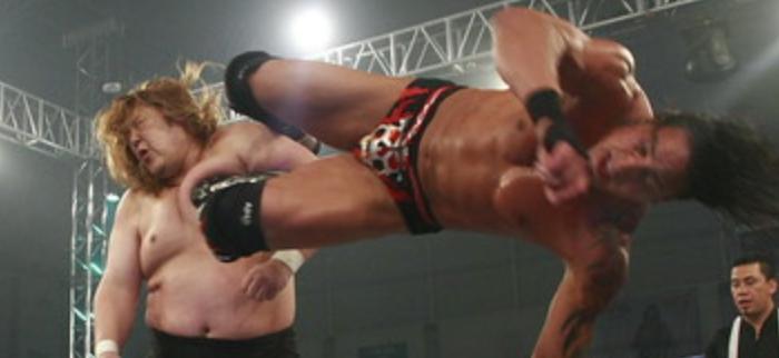 365 Wrestling, Day 32: El Mesias vs. Takeshi Morishima (AAA,2/1/10)