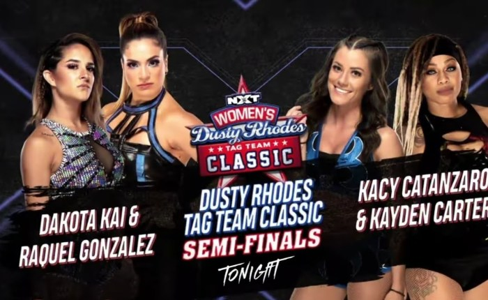 365 Wrestling, Day 34: Dusty Rhodes Tag Team Classic, Women's Semifinals(2/3/21)