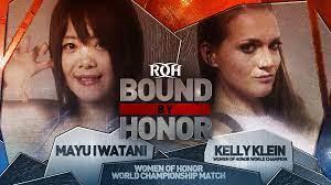 365 Wrestling, Day 41: Mayu Iwatani vs. Kelly Klein (ROH,2/10/19)